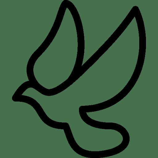 Dove Icon | Line Iconset | IconsMind