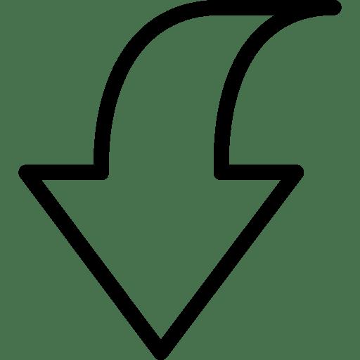Down-2-2 icon