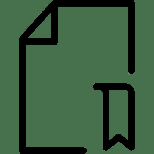 File-Bookmark icon