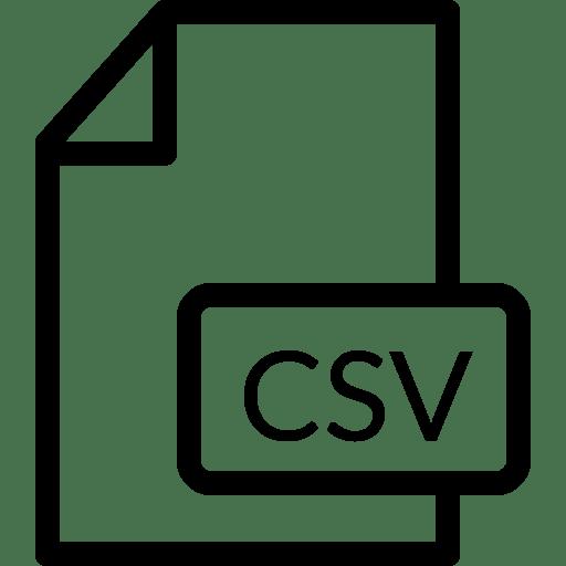 File-CSV icon