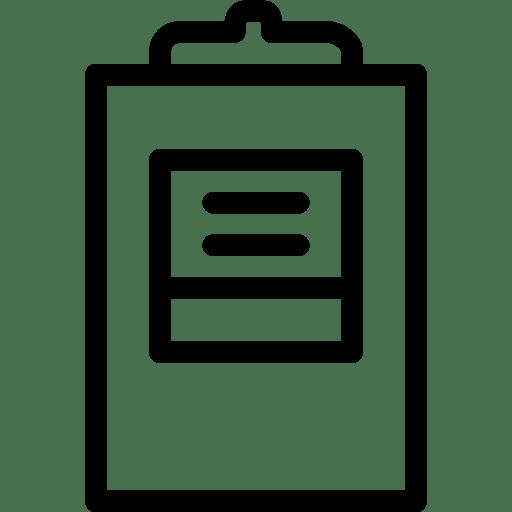 File-ClipboardTextImage icon