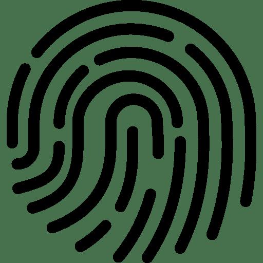 Fingerprint 2 Icon | Line Iconset | IconsMind