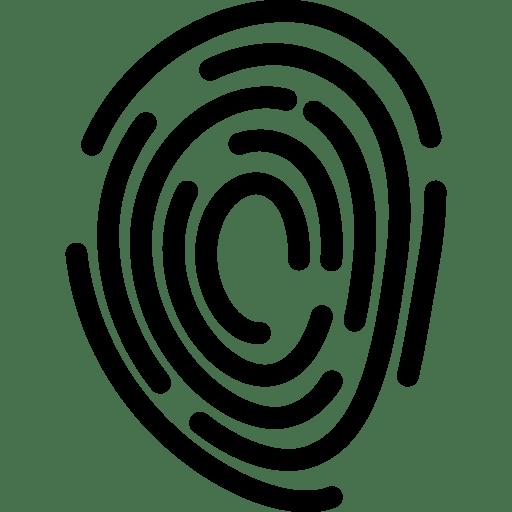 Fingerprint Icon | Line Iconset | IconsMind