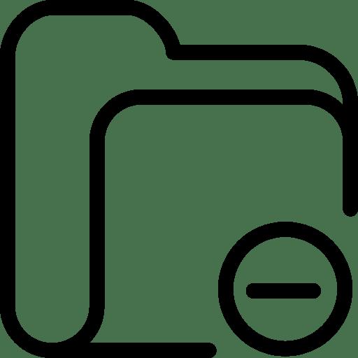 Folder-Block icon