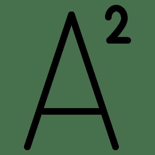 Font-StyleSuperscript icon