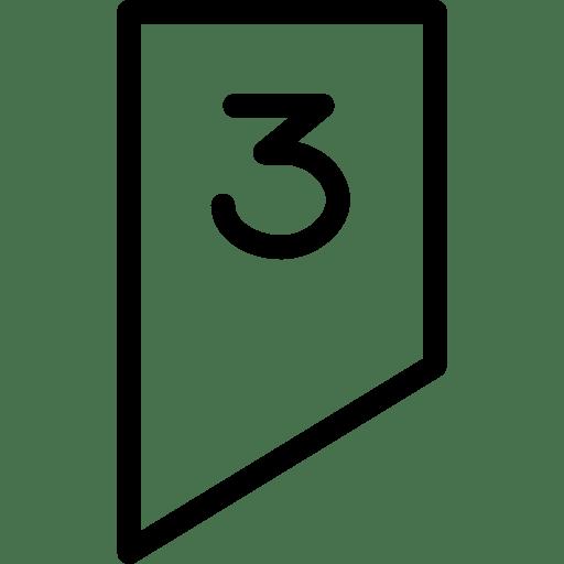 Geo3 Number icon