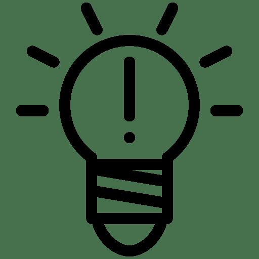 Idea Icon Png Idea 3 Icon | Line Ico...