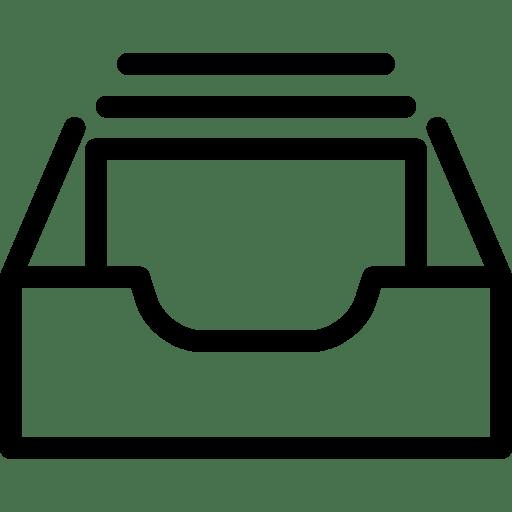 Inbox-Full icon