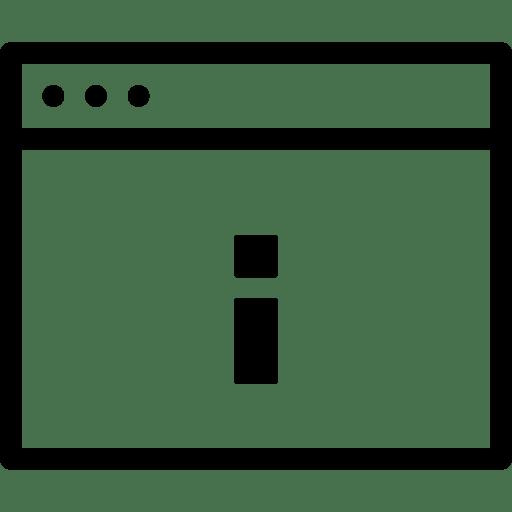 Info-Window icon