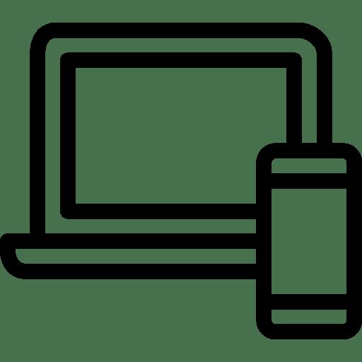 Laptop-Phone icon