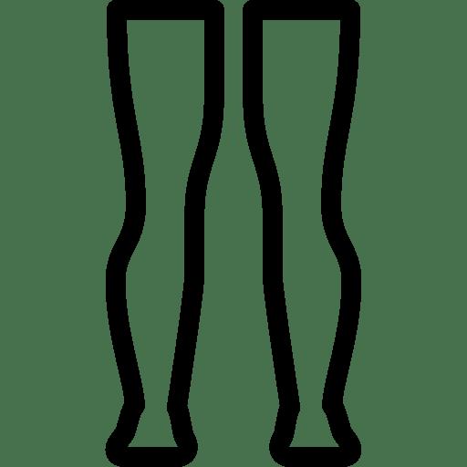 leg 2 icon line iconset iconsmind