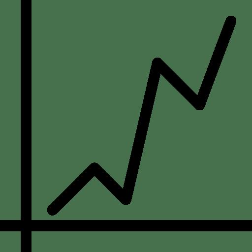 Line Chart Icon Line Iconset Iconsmind