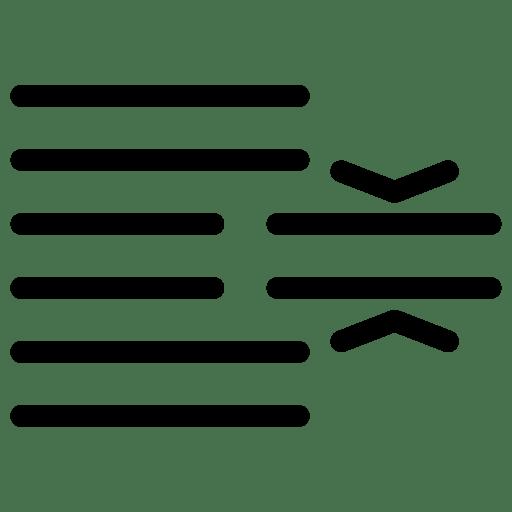 Line-SpacingText icon