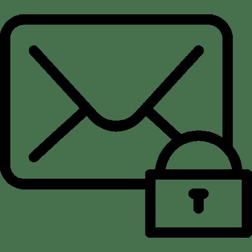 Mail-Lock icon
