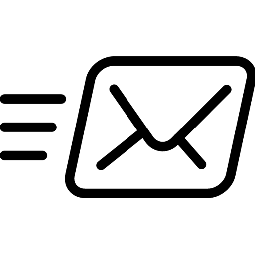mail send icon line iconset iconsmind