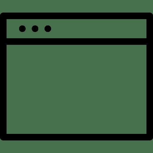 Navigation-LeftWindow icon