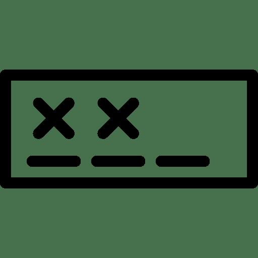 Password-Field icon