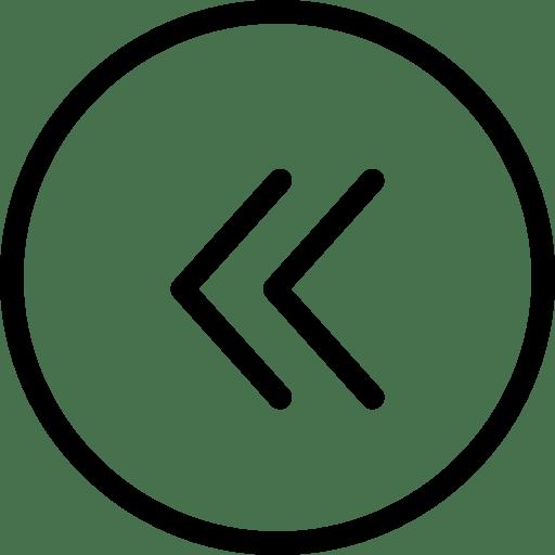 Previous Icon | Line Iconset | IconsMind