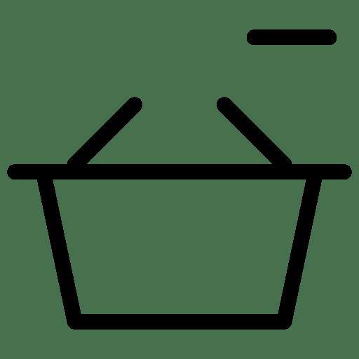 Remove-Basket icon