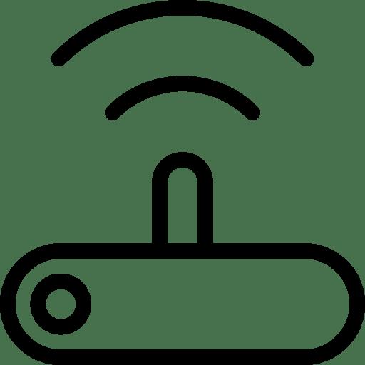 Router 2 Icon | Line Iconset | IconsMind