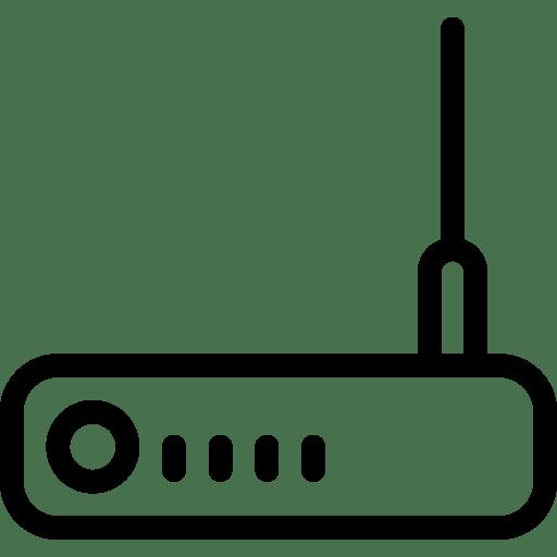 Router Icon | Line Iconset | IconsMind