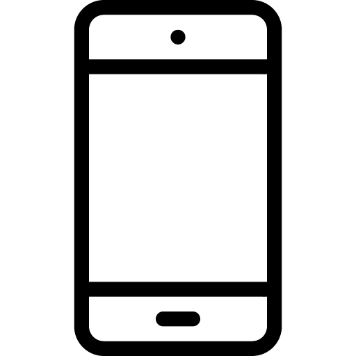 Smartphone 4 Icon | Line Iconset | IconsMind