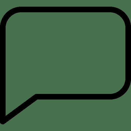Speach Bubble 3 icon