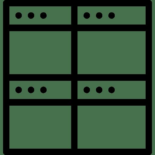 Split-FourSquareWindow icon