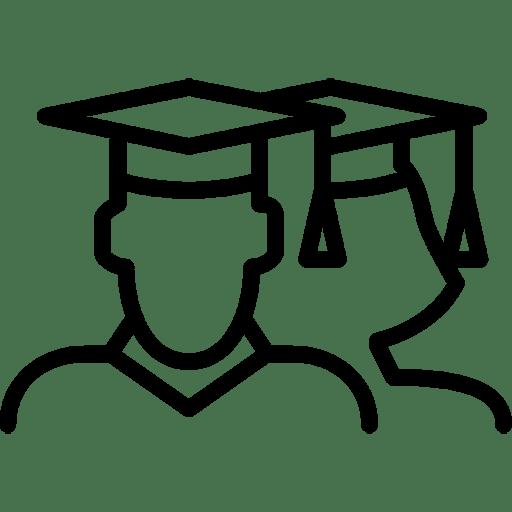 Student-MaleFemale icon