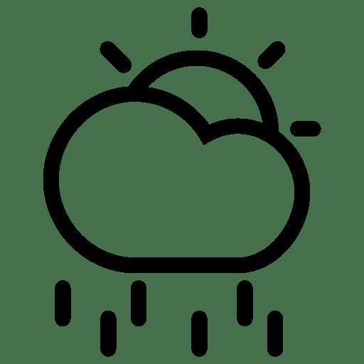 Sun-CloudyRain icon