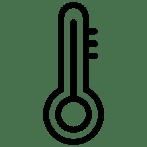 temperature icon line iconset iconsmind