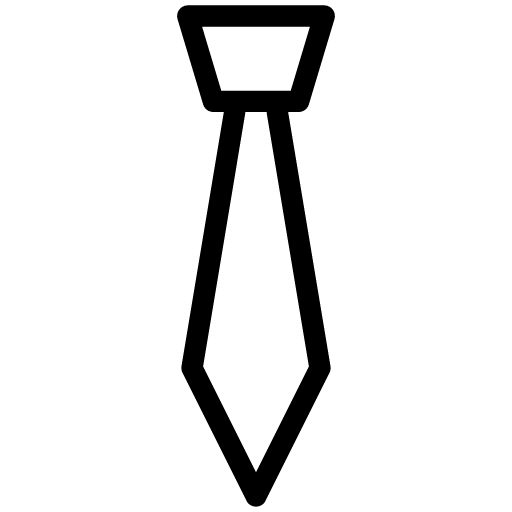 tie icon line iconset iconsmind