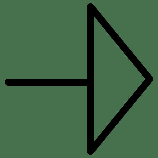 Triangle-ArrowRight icon