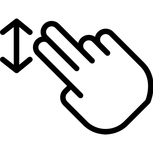 Two-FingersDrag icon