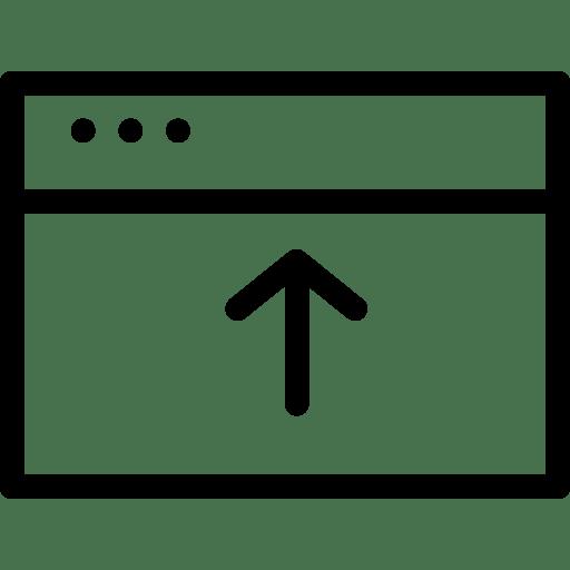 Upload-Window icon