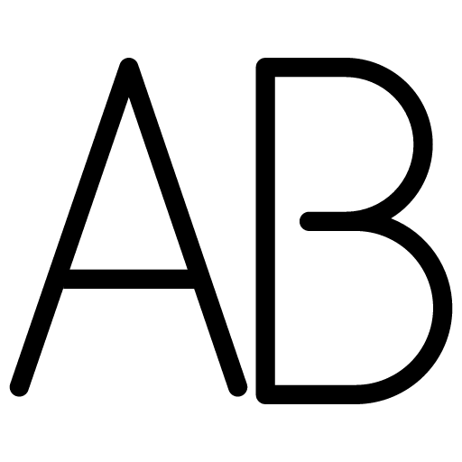 Uppercase-Text icon