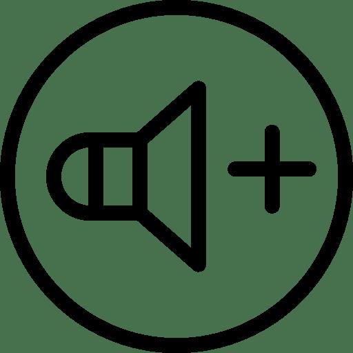 Volume-Up icon