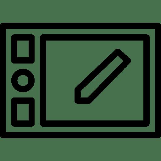 Wacom-Tablet icon