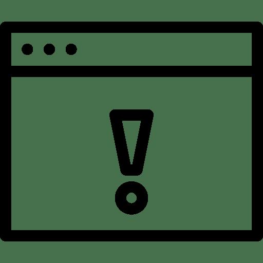 Warning-Window icon