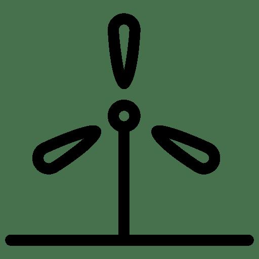 Wind-Turbine icon