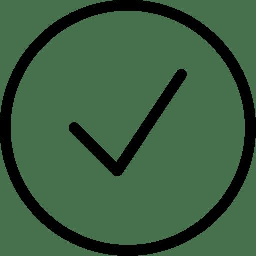 Yes Icon | Line Iconset | IconsMind