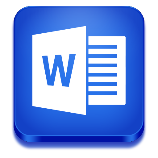 word icon microsoft office 2013 iconset iconstoc
