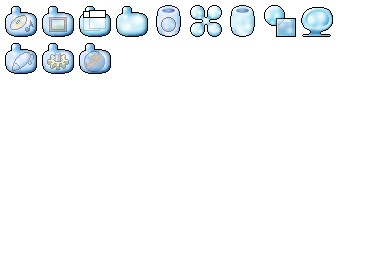 Aqua Tick Icons