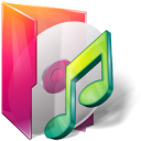 folders music icon