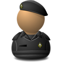 Elite-Captain-Black-Shielded icon