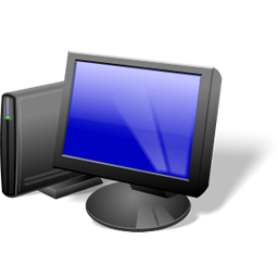 Blue Background Desktop Icons Spyware 80