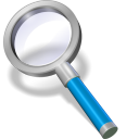 Search-blue icon