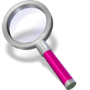 search pink icon
