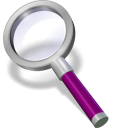 search purple dark icon