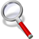 Search red icon